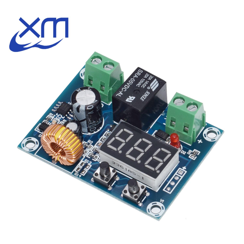 1 шт. XH-M609 12 В-36 В постоянного тока зарядное устройство Модуль Защита от перенапряжения батареи Точная защита от низкого напряжения плата мод...