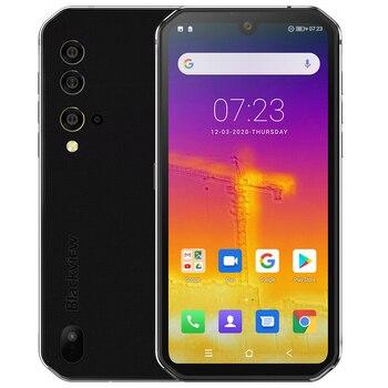 Перейти на Алиэкспресс и купить Мобильный телефон Blackview BV9900 Pro NFC, 8 Гб 128 ГБ, термальная камера, Восьмиядерный Helio P90, 4G Прочный смартфон, четырехъядерная задняя камера 48 МП