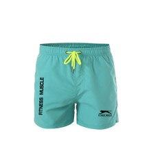 Шорты мужские для плавания, пикантные пляжные, быстросохнущие, с подкладкой, плавки, спортивная одежда для серфинга