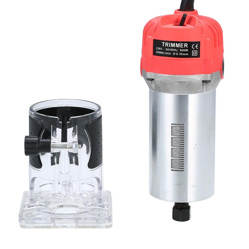 KKmoon 220V 800W электрический триммер для деревообработки ручной фрезерный станок Инструменты для столярных работ 30000r/мин Huter Мощность инструменты электрическая машинка для стрижки