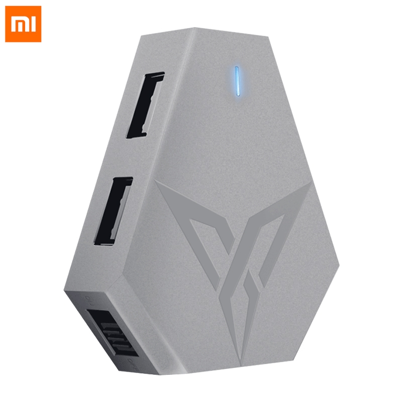 Original Xiaomi Flydigi Q1 Portable Bluetooth 4.0 BLE Mobile Game Converter Keyboard and Mouse Adapte for FPS Mobile Games(China)