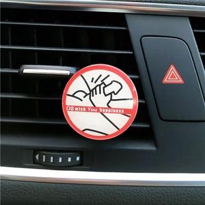 Image 3 - 새로운 2 pcs 가격 아크릴 자동차 스타일링 장식 향수 재미 있은 방귀 남자의 자동차 향수 공기 청정기 향수