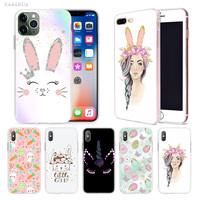 case iphone 5 My Rabbit Girl Queen Case for Apple iphone 11 Pro X XS Max XR 7 8 6 6S Plus + 5 S SE 5C Silicone Carcasa Phone Coque Cover (1)