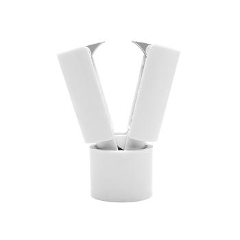 Biały zszywki Remover z srebrny ze stali nierdzewnej szczęki stalowe narzędzie do wyjmowania zszywki dla Standard 26 6 24 6 10 # usuwanie zszywki tanie i dobre opinie MEIYITIAN Z tworzywa sztucznego NST-HS109StapleRemover White 59mm x 26mm For standard 24 6 26 6 and 10# staples