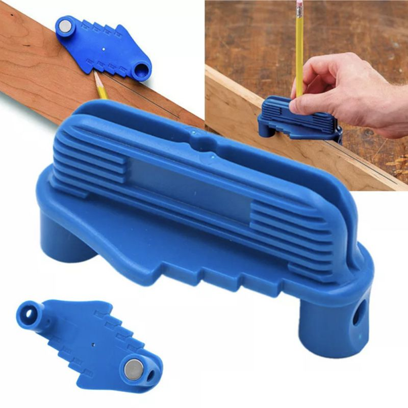 Center Scriber Line Scriber Woodworking Marking Offset Marking Tool Marking Center Finder Tool Fits Standard Wooden Pencils Center Offset Scriber Pencils Marking Tool