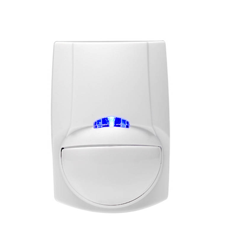 OPQ-Wireless Mini Safety PIR Motion Sensor Alarm Alert Detector Home Alarm System Built-In Battery With Magnetic Swivel Base