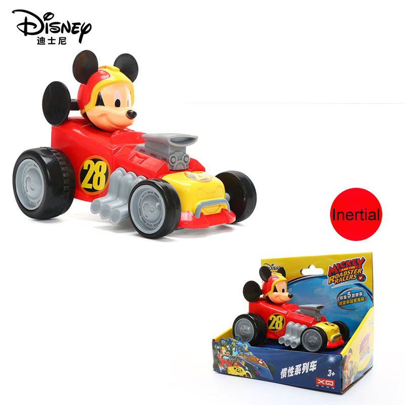 1pcs Original Disney Pixar Cars Mickey Minnie Mouse High Quality Plastic Toy Car Children's Toys Birthday Gift Christmas Gift