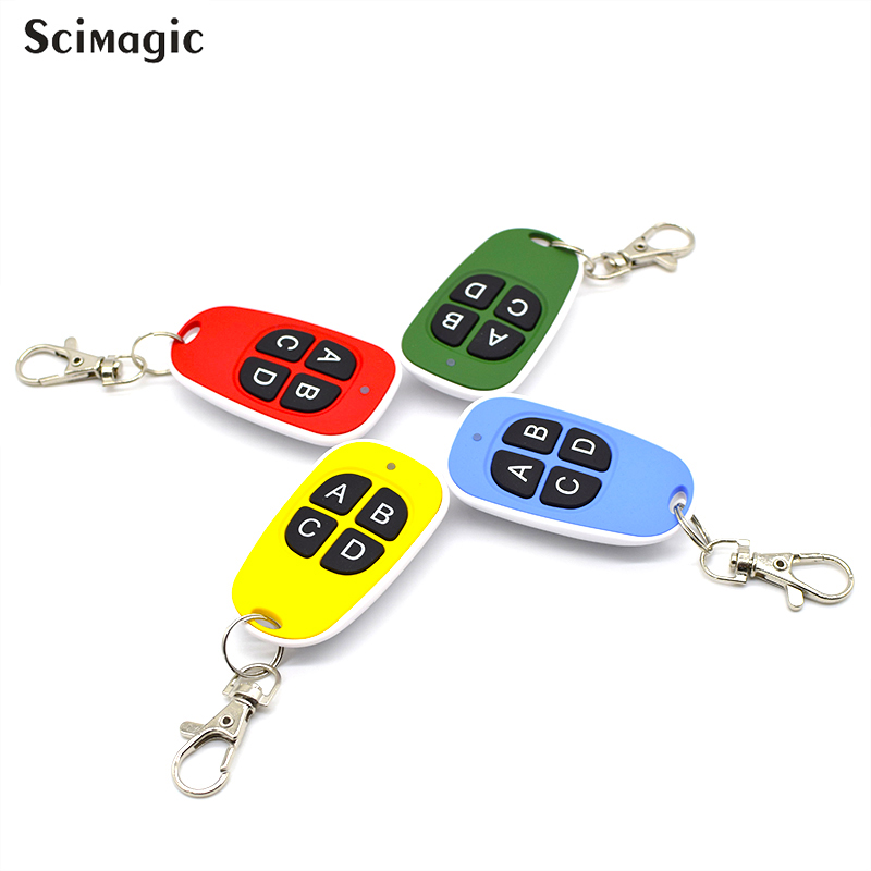 Image 5 - 433.92 Mhz Duplicator Clone Remote Control For ADYX PROTECO CARDIN V2 DEA For Universal Garage Gate remote 433mhz fixed code-in Door Remote Control from Security & Protection