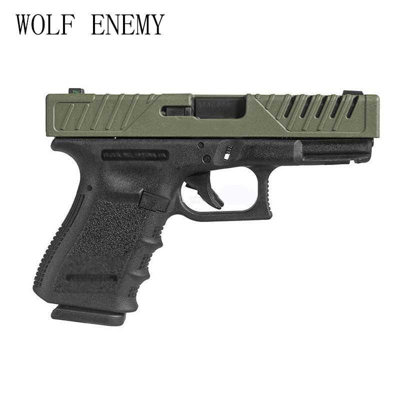Nouveauté pistolet CaseTactical pistolet accessoires défense tactique peau glissière couverture pour Glock 17/22/31/37 BK/DE/OD