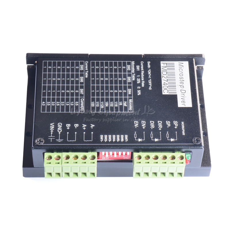 FMD2740C 2 Phase Stepper Motor Driver 4A128 Subdivision For Cnc