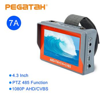 4 3 cal TFT LCD analogowe CVBS AHD 2MP wsparcie UPT tester do kabli CCTV tester kamery monitor dla system kamer bezpieczeństwa tanie i dobre opinie PEGATAH 10-20 m 2 8mm CN (pochodzenie) 1 4 inch CMOS TI-9537A Ue wtyczka 4 3-inch LCD 480 (RGB) * 272 (QVGA) resolution