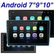 Hikity Android Auto Radio 2Din GPS Stereo Multimedia Audio MP5 Player Bluetooth Autoradio für Toyota VW Hyundai Honda Nissan Lada