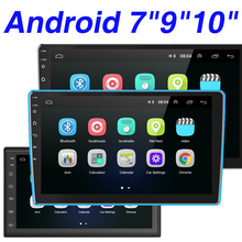Hikity Android Auto Radio 2Din GPS Stereo Multimedia Audio MP5 Player Bluetooth Autoradio für Toyota VW Hyundai Honda Nissan Lada