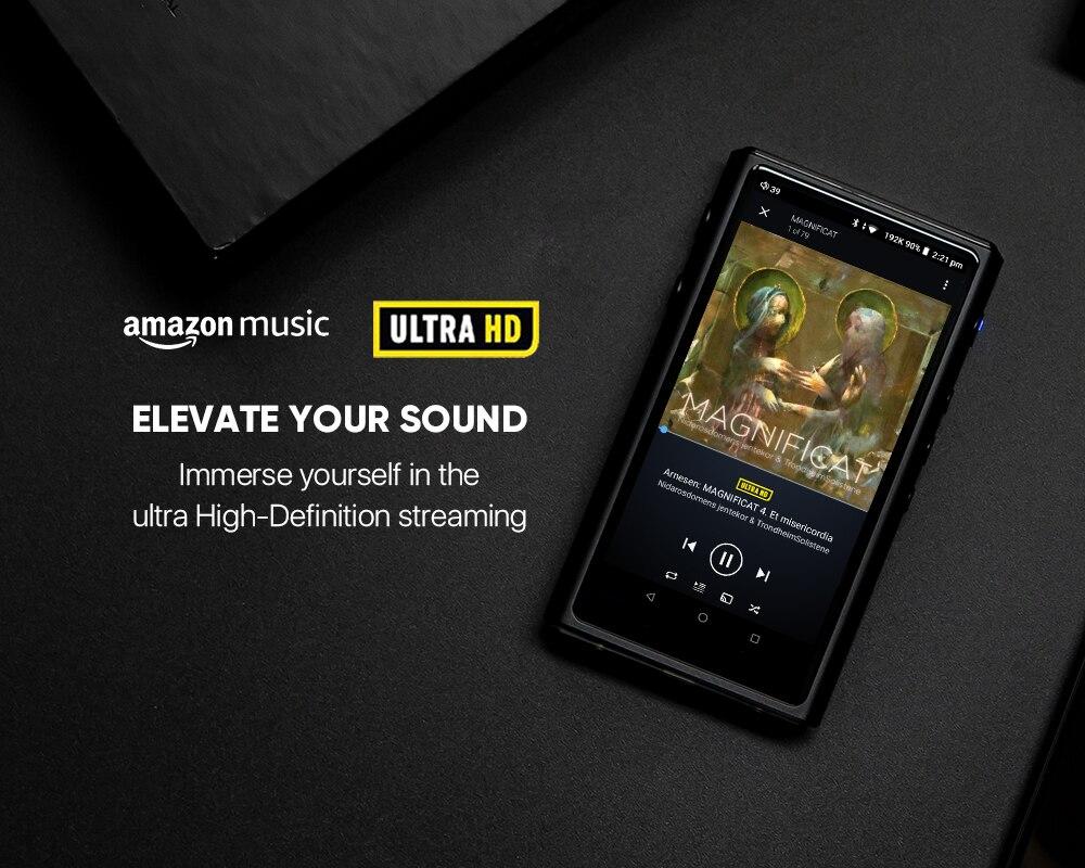 Hiby Mp3-Player Music HIFI Android-8.1 Hi-Res/mqa Lossless Amazon