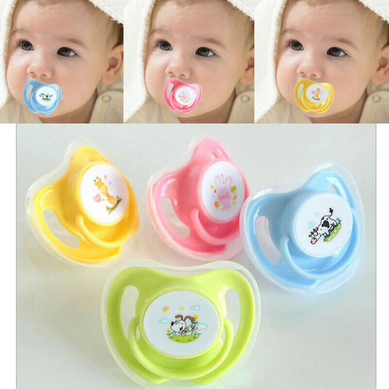 Lovely Over 3months Newborn Baby Kids Pacifier Nipples Teeth Silicone Orthodontic Dummy Teat Soother