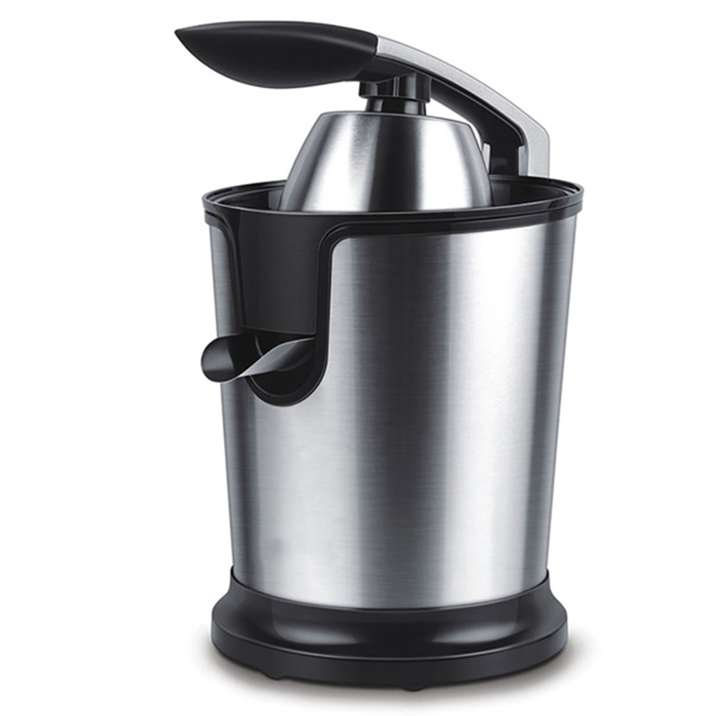 Stainless Steel Orange Lemon Electric Juicer 160W Fruit Squeeze Fresh Juice Household Eu Plug