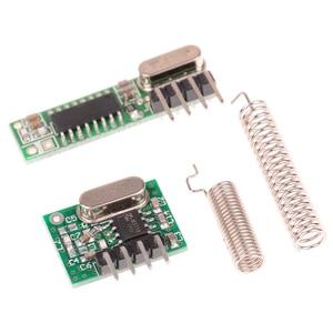 Image 2 - Módulo inalámbrico de Control remoto para Arduino Uno, Kit de bricolaje de 433 Mhz, receptor y módulo transmisor de RF superhelicoidal para Arduino Uno, 1 ud.