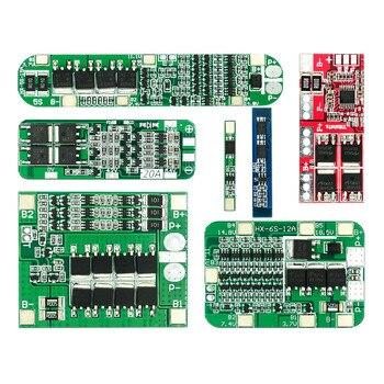 1S 2S 3S 4S 3A 20A 30A Li-ion batterie au Lithium 18650 chargeur PCB BMS Protection conseil pour perceuse moteur Lipo cellule Module 5S 6S