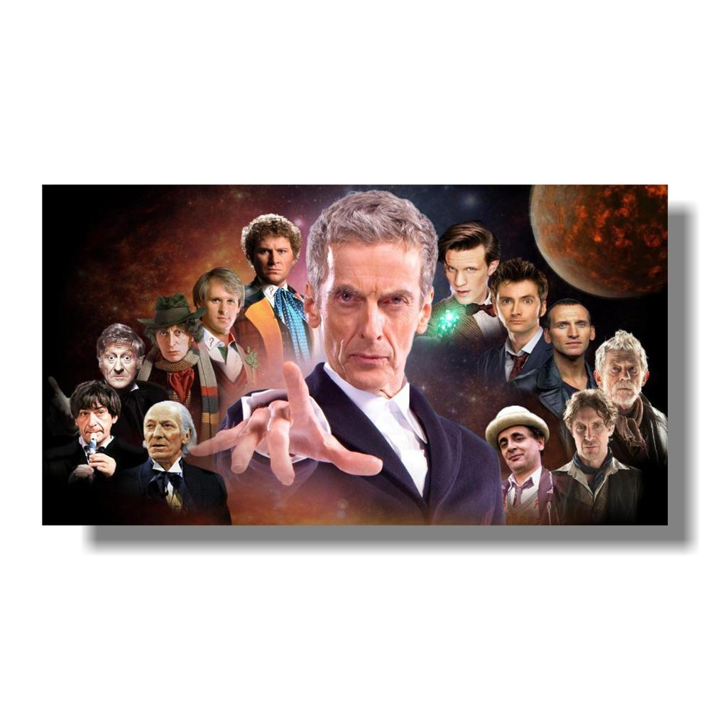 Doctor Who TV Series Art Silk Wall Poster Room Decoration 13x20 24x36 inches 003