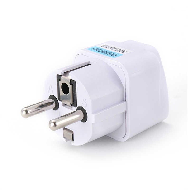AC 250V 10A 1PC EU Plug EU Power Universal RU ES US Conversion ยุโรปปลั๊กแปลง SOCKET travel ซ็อกเก็ตอะแดปเตอร์