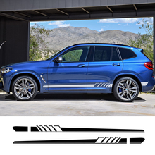 Для BMW X5 E70 E53 F15 X3 F25 E83 X6 F16 E71 X1 F48 E84 X2 X4 F26 X7 M2 M3 M4 M5 M6 2 шт. автомобиль боковая Стикеры автомобиля Тюнинг аксессуары