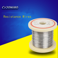 1 Roll 1kg Cutting Foam Resistance Wires Cr20Ni80 Heating Wire Nichrome Wire Industry Supplies 0.08mm 2.5mm