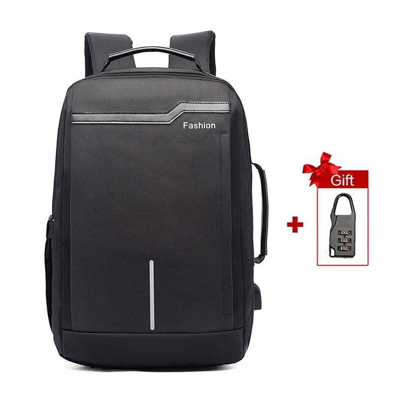 Men Laptop Backpack 17.3 Inch Anti Theft Bagpack Travel Large Men's Women Back Pack Bag Mochila School Bags Multifunctional Man