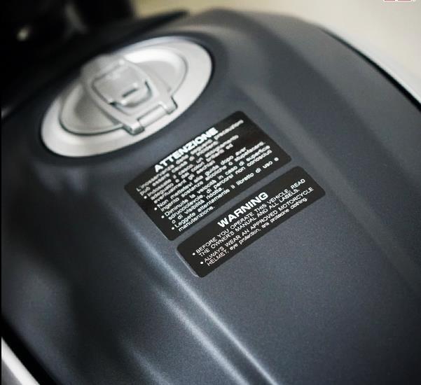 2 шт. Предупреждение Стикеры s пожалуйста мотоциклетные топливный бак Светоотражающие Стикеры виниловые Мотокросс Автомобильная наклейка ...