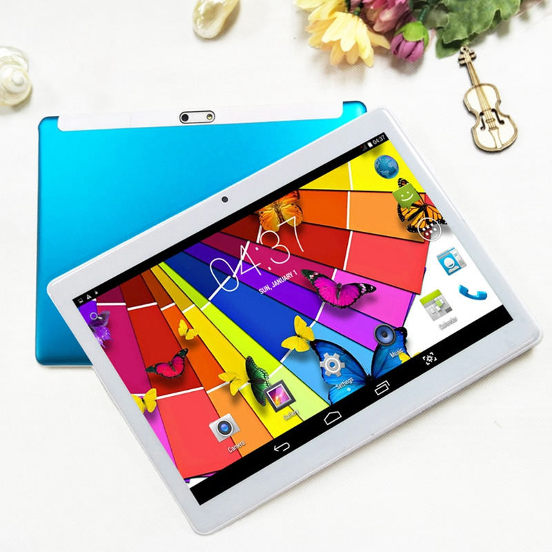 New 10.1 Inch Kids Tablet 2.5D Screen Android 6.0 EU Plug 2G+16GB Quad Core Dual Camera,Gifts For Boys Girls