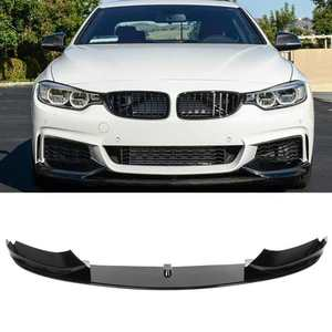 For M Performance MP Front Bumper Lip Spoiler Splitter Fit for BMW 4 F32 F36 M Sport 2013 2014 2015 2016 2017 2018 2019 2020