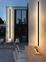 LED Outdoor Wand Licht Lange Wand Licht Moderne Wasserdichte IP65 Veranda Garten Wand Lampe & Innen Schlafzimmer Nacht Dekoration Lightin