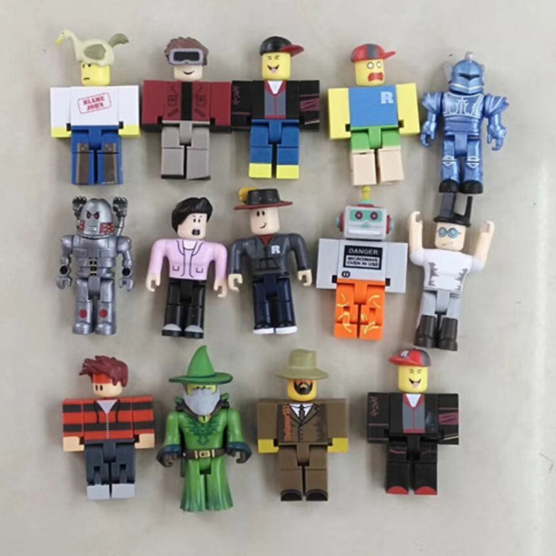 Robloxes Robot Mr Bling Bling Characters Action Figures Champions Of Robloxes Games Figurines Toys Mermaid Action Toys Kids Gift