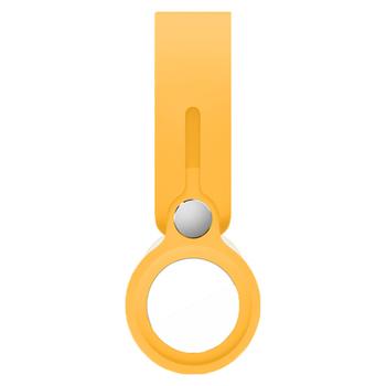 Futerał silikonowy do pętli Airtag płynny rękaw ochronny lokalizator Apple Tracker urządzenie anty-zgubione brelok ochronny rękaw gorący tanie i dobre opinie Chodosimee CN (pochodzenie) Przypadki