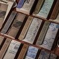 60Pcs Antike Buchhandlung Serie Material Papier Junk Journal Planer Scrapbooking Vintage Dekorative DIY Handwerk Hintergrund Papier