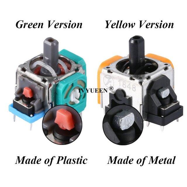 IVYUEEN 3D Analog Joystick Sensor Module Potentiometer Thumb Stick for Sony PlayStation 4 5 PS5 PS4 Pro Controller Repair Parts 3