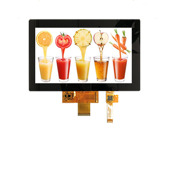 7.0-inch 1024*600 Full viewing angle,IPS TFT LCD display,6/8 bit LVDS interface,with capacitive touch panel image