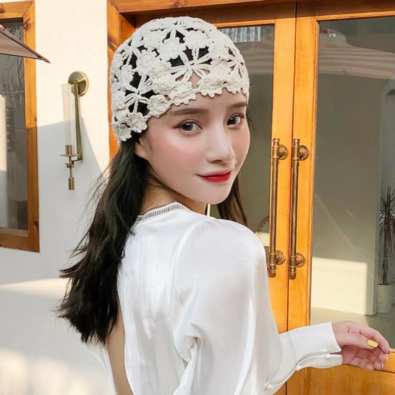 chapéu das senhoras do vintage skullies beanie gorro feminino retro beanies