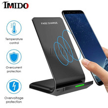 Best for iphone xs max x xr 8 wireless charger for samsung s10 s9 s8 s7 6 huawei xiaomi mi 9 10w qi wireless induction charging