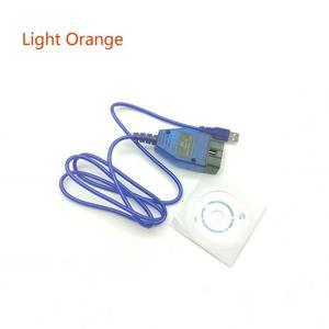 Image 2 - OBD2 CH340 Circuito Integrato Cavo USB KKL VAG COM 409.1 OBD2 OBDII Scanner di Diagnostica Per VW Audi Skoda Sede