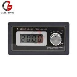 4-20mA LCD cyfrowy Generator sygnału DC regulowany Tester prądu PLC dwuprzewodowy Test dynamiczny DIY 24V