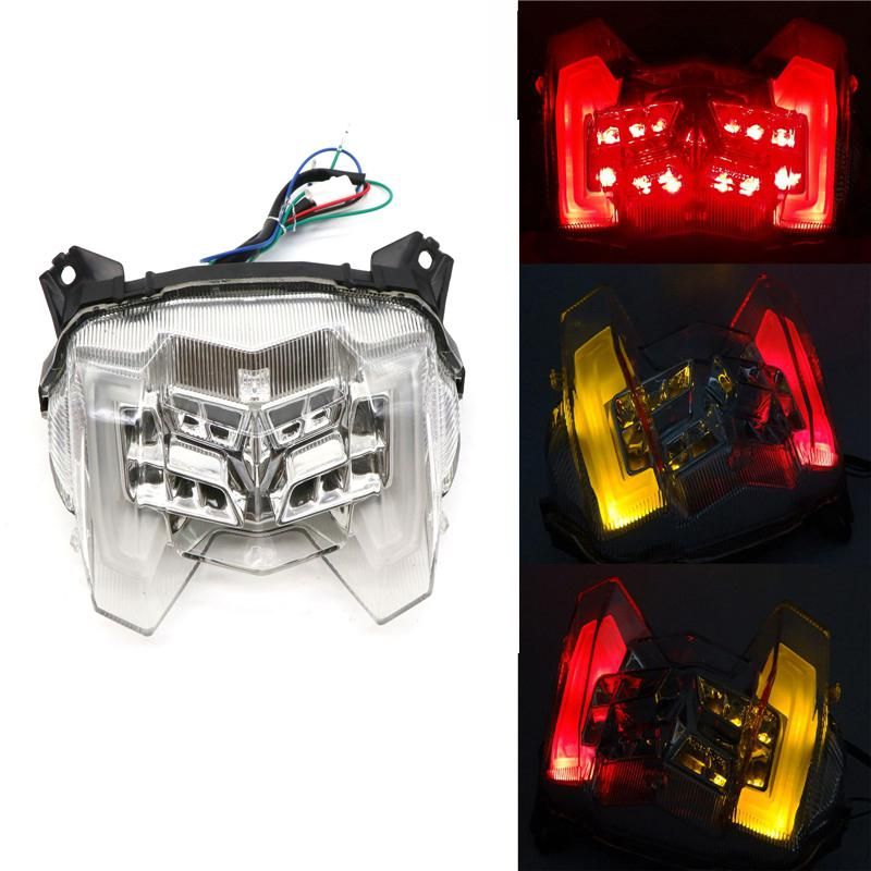Motorcycle Rear Tail Light Brake Turn Signals Integrated LED Light For Yamaha MT-09 FZ-09 18-19
