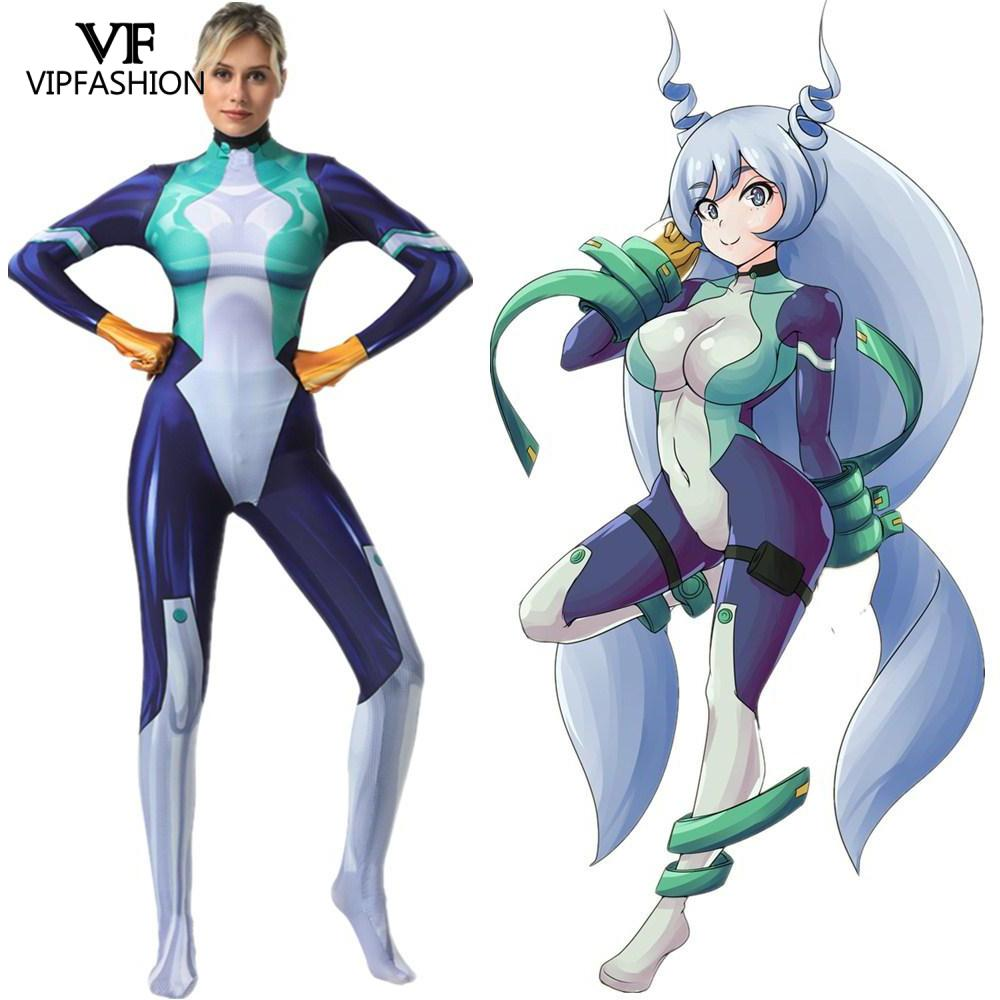 Vip Fashion Female Nejire Hado Cosplay Costume My Hero Academia Costume Party Zentai Jumpsuit Catsuit Bodysuit Anime Costumes Aliexpress