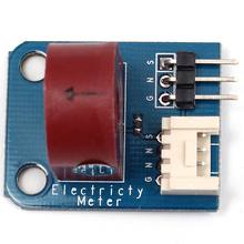 Electricity Meter(Analog) AC Current Sensor Current Transformer 5A for Arduino 30.0mm X 24.0mm X 1.6mm PCB Board(China)