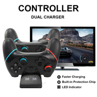 Switch pro Gamepad dual Charger