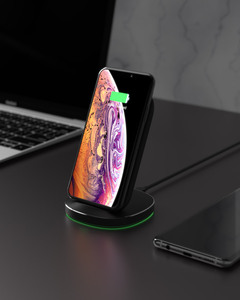 Image 5 - BlitzWolf FWC6 10W 7.5W 5W Dual Coils Qi Smart Wireless Fast Charger Stand Holder for iPhone 12 Pro Max  for Samsung for Huawei