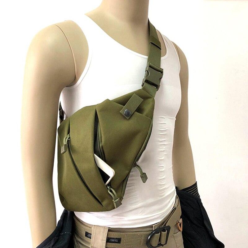 Multifunctional Concealed Tactical Gun Storage Bag Holster Men's Left Right Nylon Shoulder Pistol Gun Bag Hunting Holster