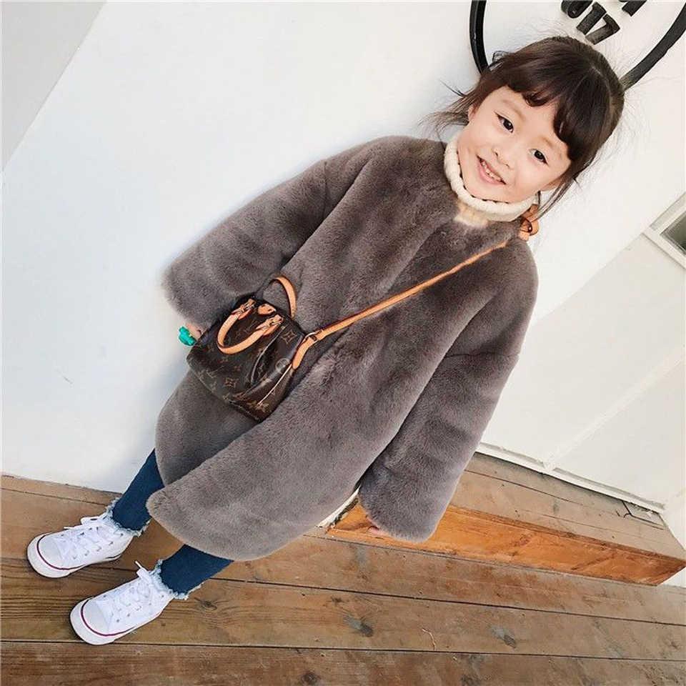 Новинка; осеннее плотное пальто для маленьких мальчиков и девочек; детская флисовая куртка для детей; Длинная Верхняя одежда; теплая зимняя одежда из овечьей шерсти для девочек