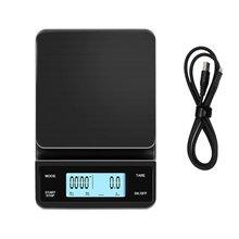 Электронные весы для кофе с таймером высокоточные цифровым ЖК