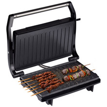 Home BBQ Grill Machine Double-Sided Smokeless Barbecue Machine Multifunctional Hotplate Grilled Meat Pan Steak Grill Maker 220V