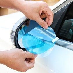 Espelho retrovisor do carro película protetora à prova dwaterproof água anti nevoeiro para peugeot 206 207 307 308 407 508 para mitsubishi asx lancer outlander